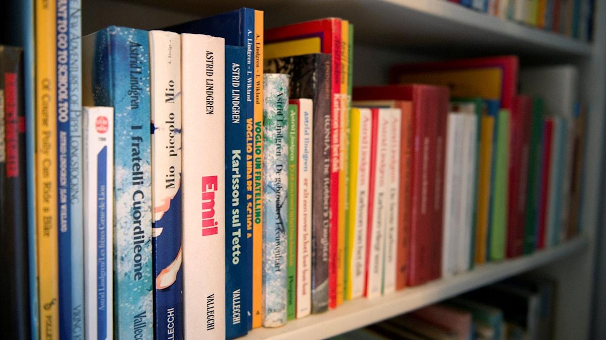 Astrid Lindgrens böcker är översatta till nästan 100 språk.
