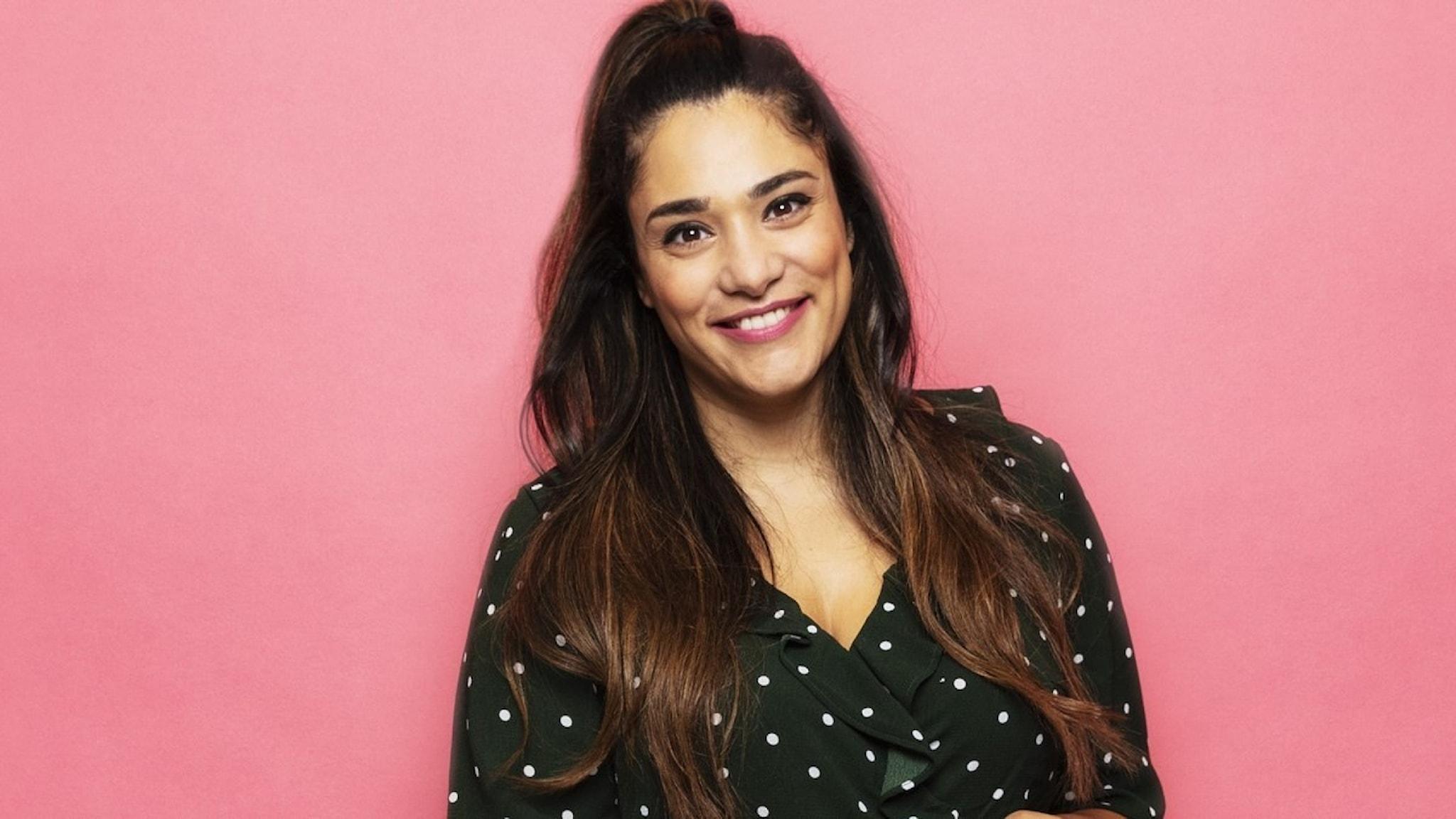 Farah Abadi, programledare för Karlavagnen i  P4