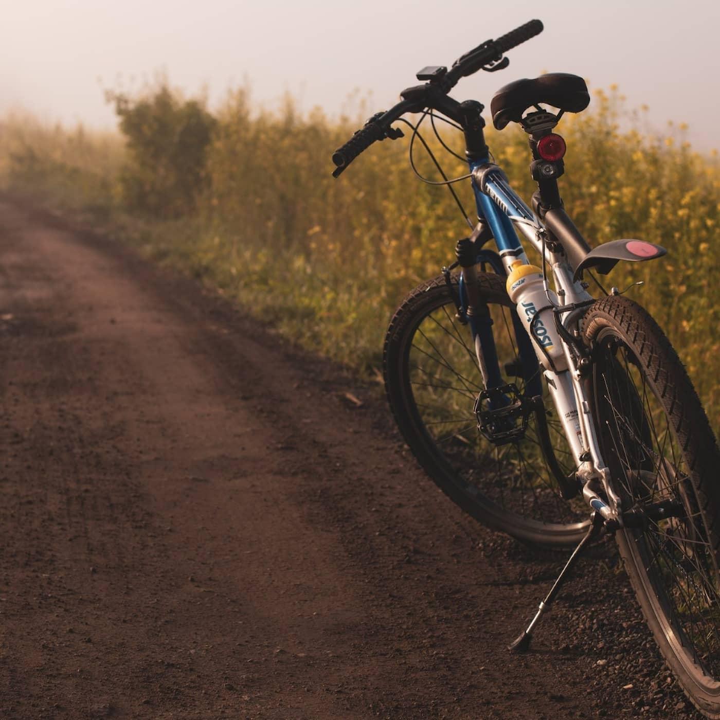Är du ute och cyklar?