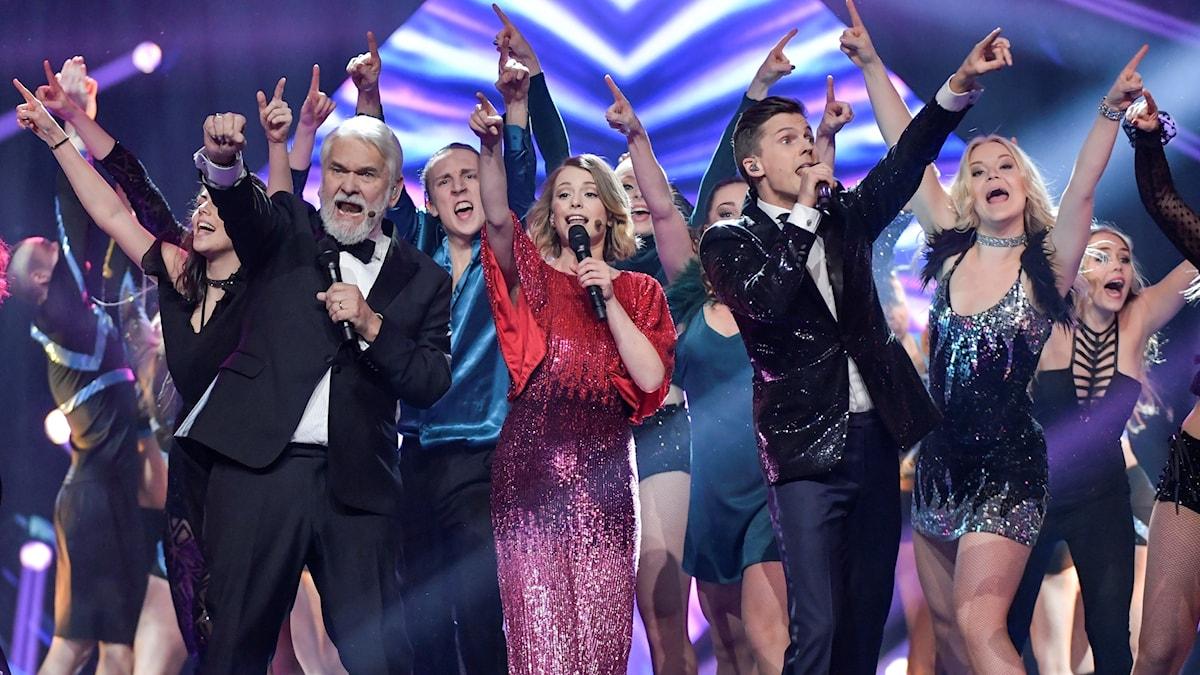 Melodifestivaldeltävling Göteborg 2017