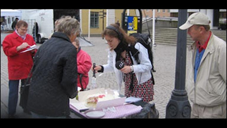 Tårtkalas i Nyköping