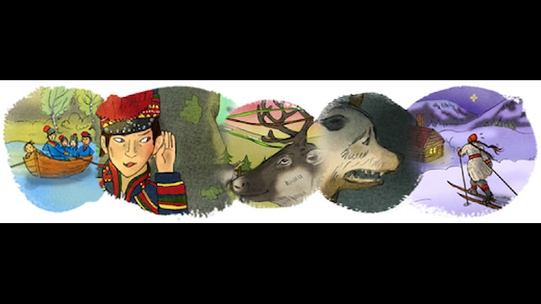 magiska skrinet samiska berättelser