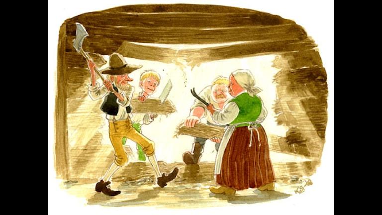 Hölmöläiset (Bild: Katarina Strömgård)