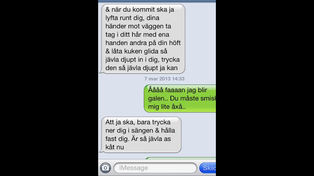 Dirty talk via sms - Christer | Sveriges Radio