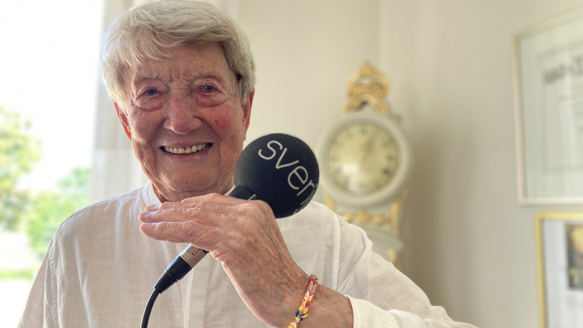 P4 Dans hyllar nyblivna 90-åringen Ingmar Nordström