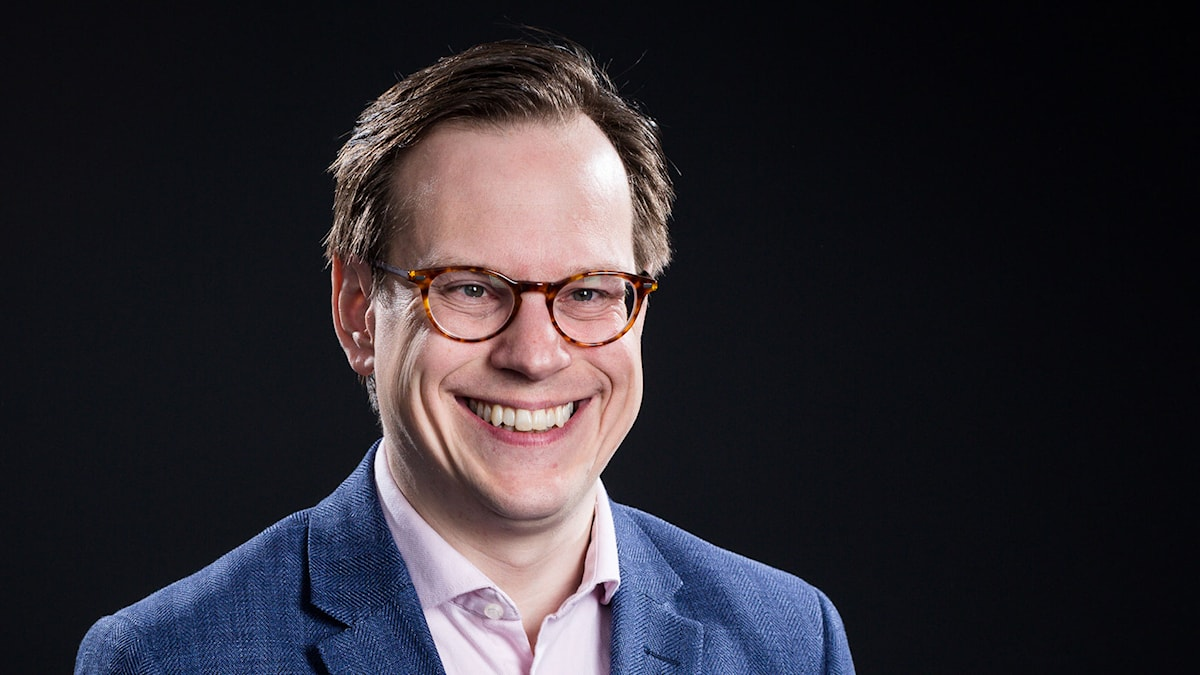 Thomas Deutgen. Foto: Micke Grönberg/Sveriges Radio.