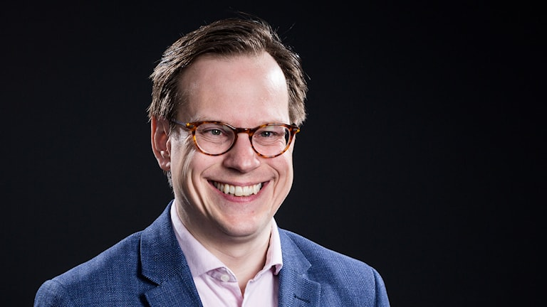 Thomas Deutgen, P4 Dans. Foto: Micke Grönberg/Sveriges Radio