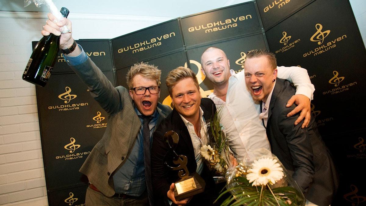 Årets Dansband Guldklaven 2015: Sannex. Foto: Stina Gullander/Sveriges Radio.