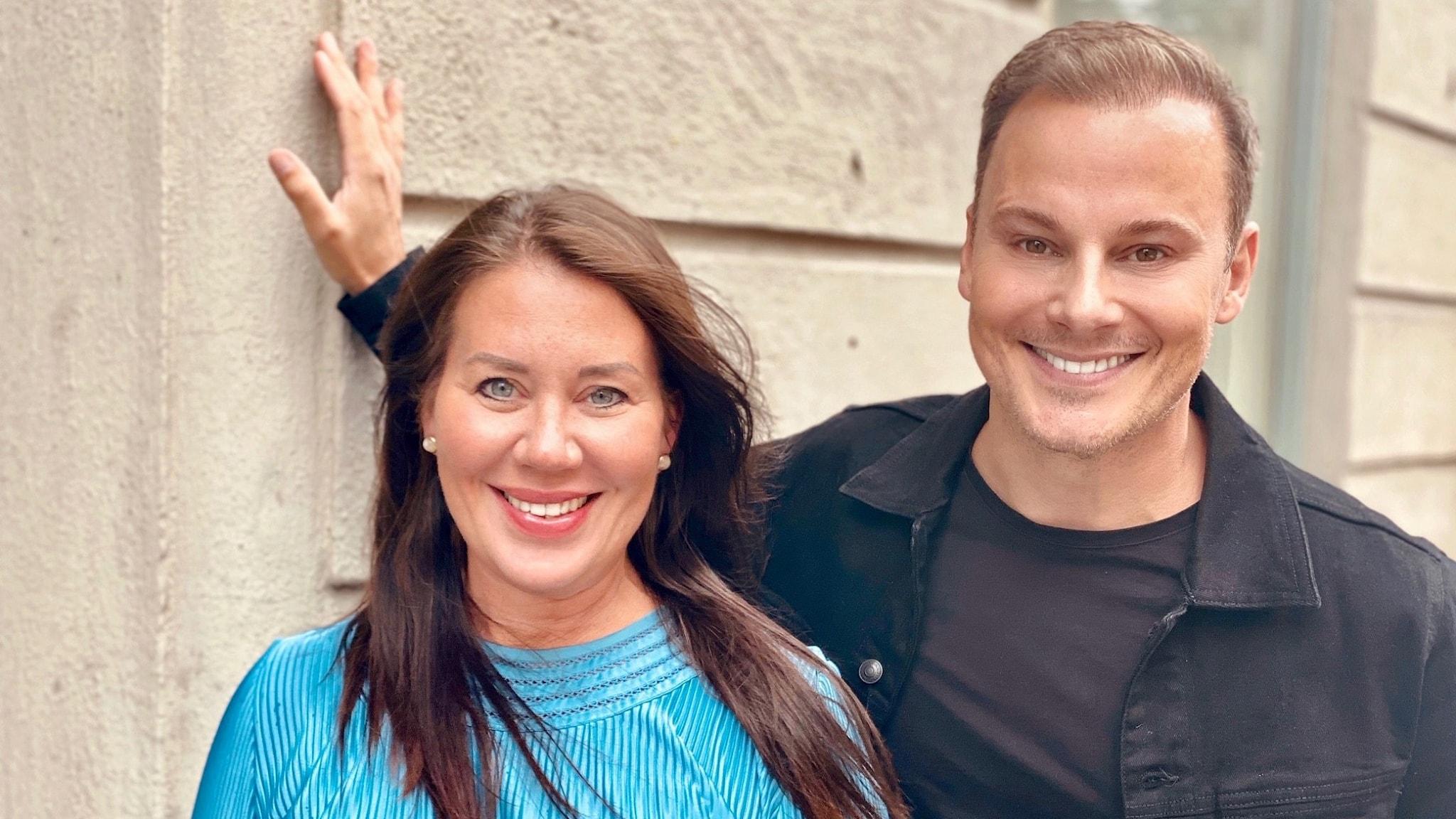 Li Skarin och Magnus Carlsson