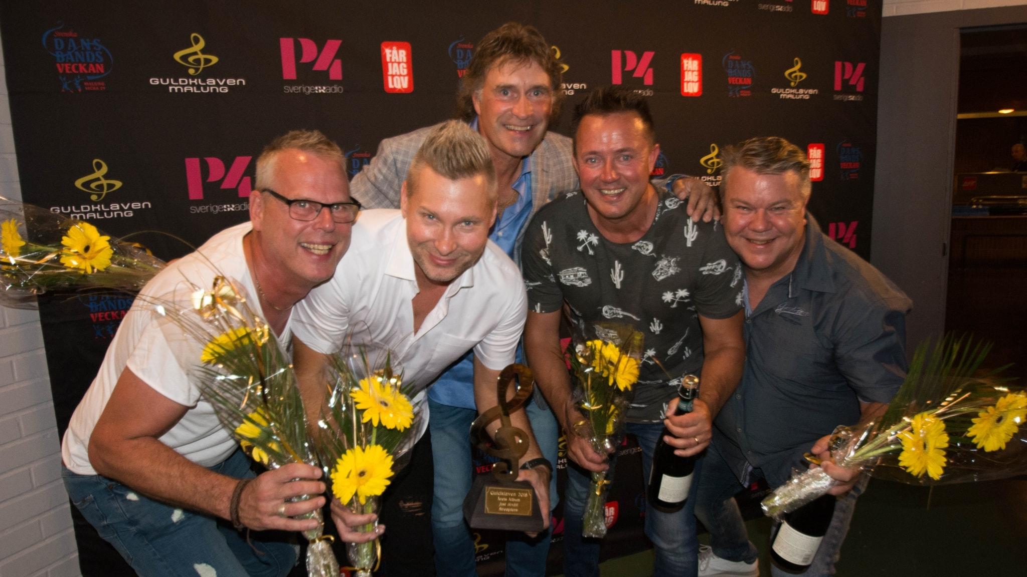 Streaplers vann Årets Album 2018