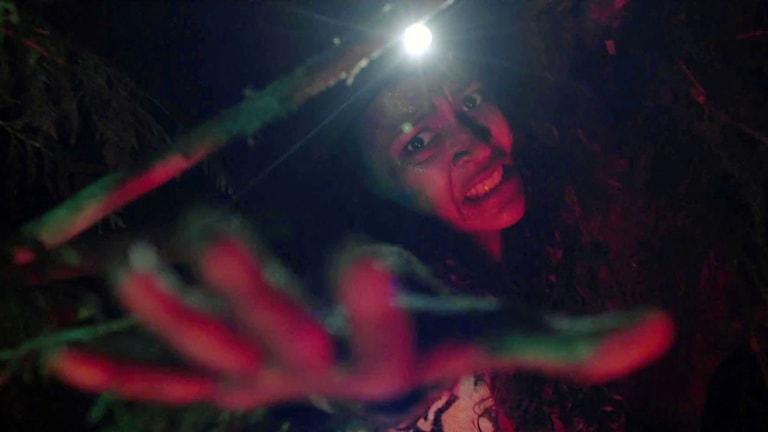 Från filmen Blair witch. Foto: Nordisk Film.