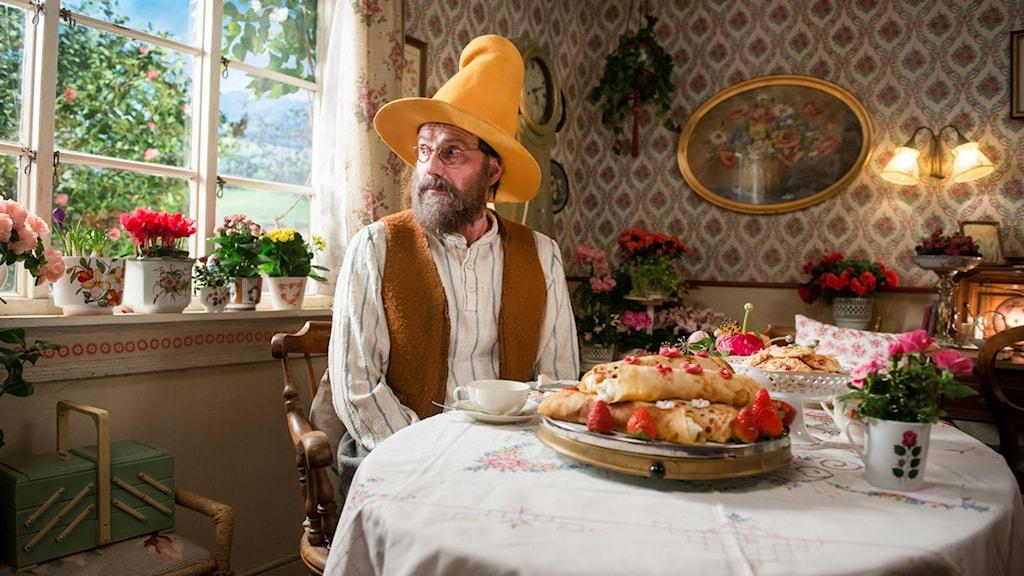 Stefan Kurt spelar Pettson. Foto: SF Studios.