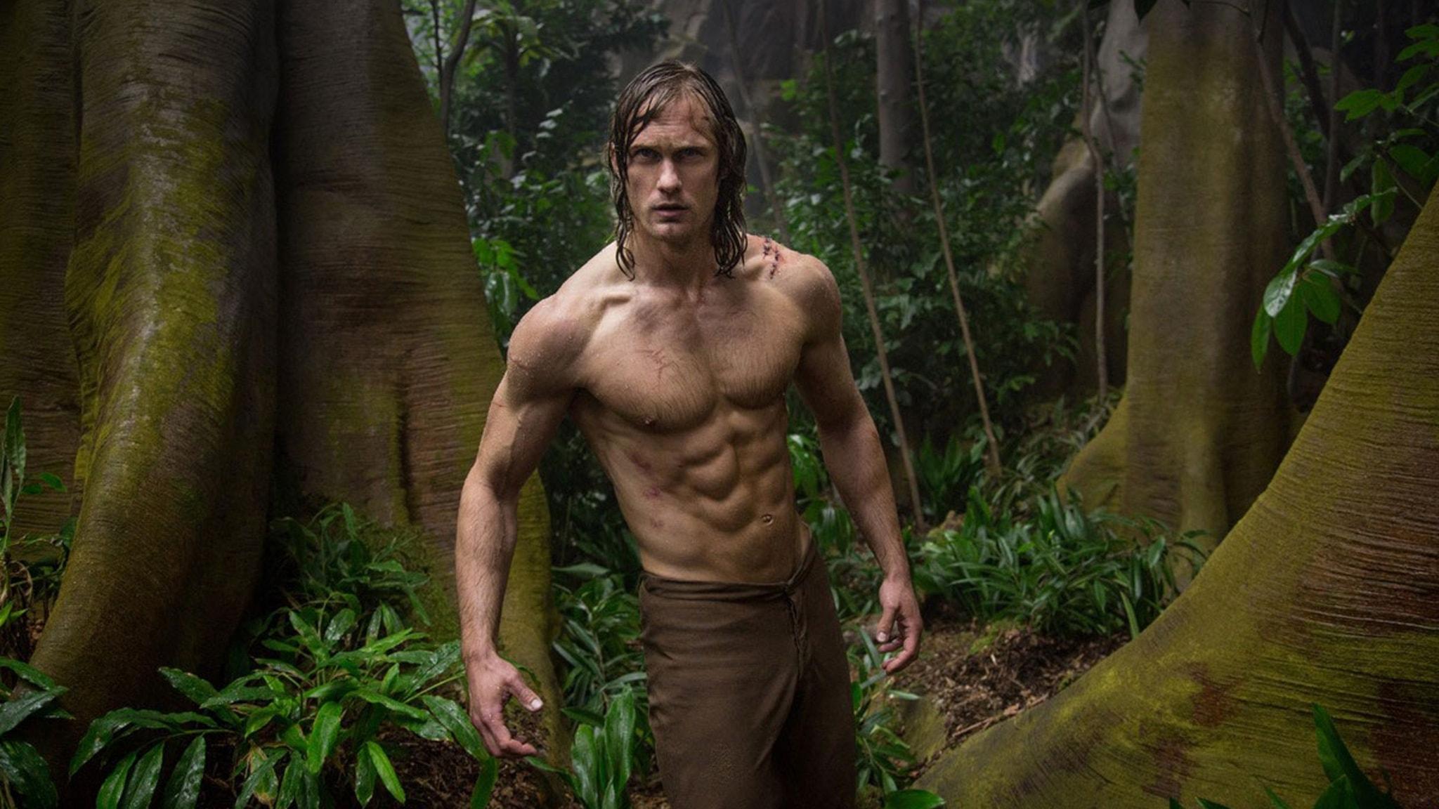 Alexander Skarsgård i Legenden om Tarzan. Foto: Fox Movies.