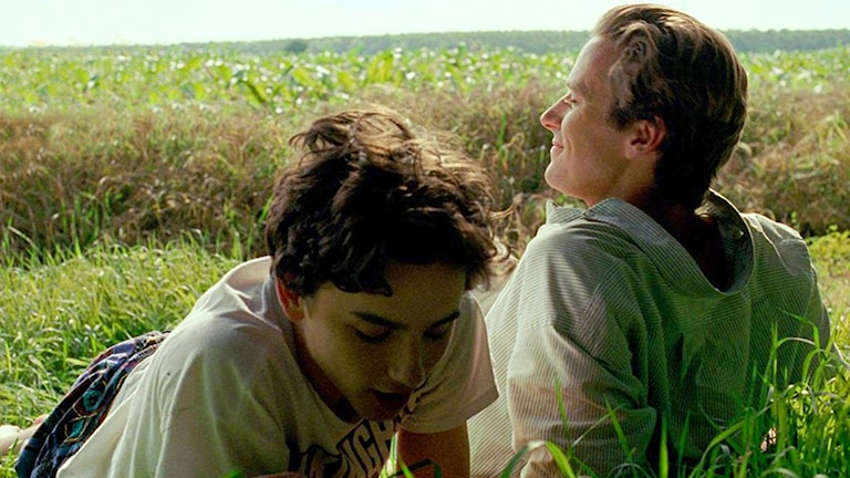 Timothée Chalamet och Armie Hammer i Call me by your name. Foto: UIP.