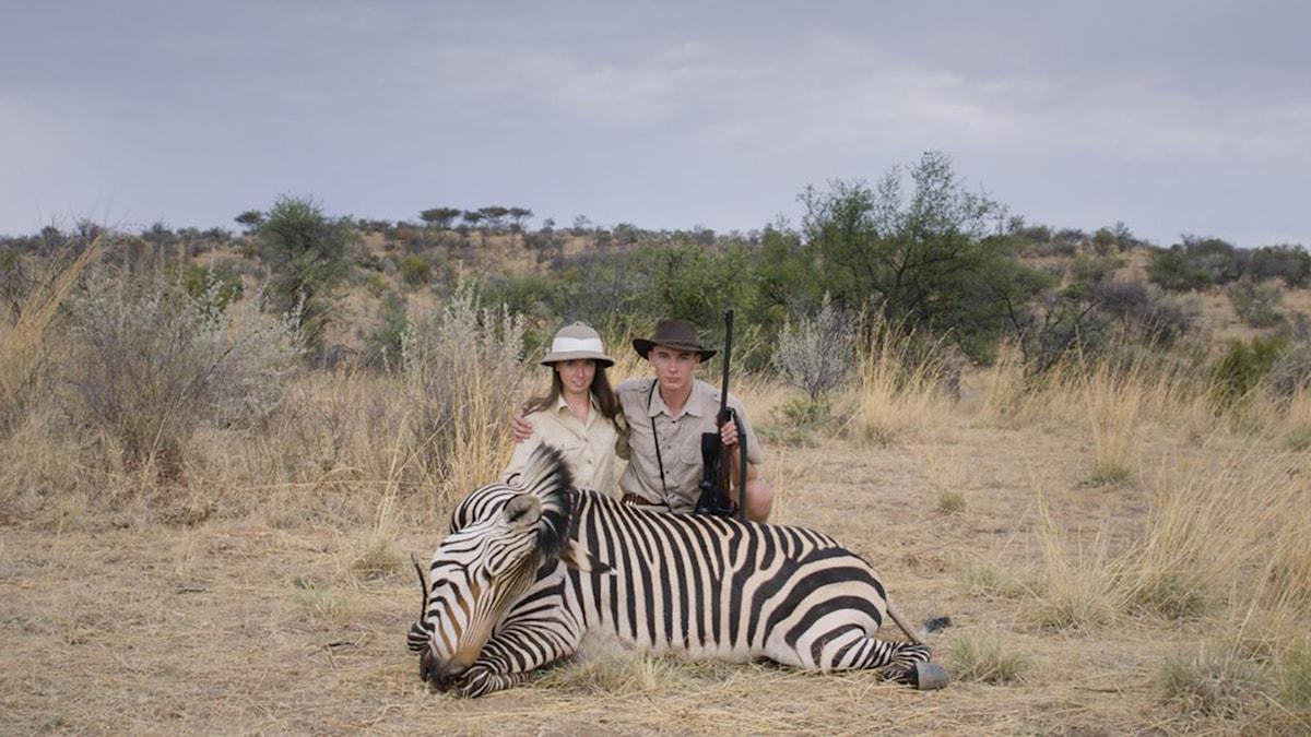 Ur dokumentären Safari av Ulrich Seidl. Foto: TriArt.