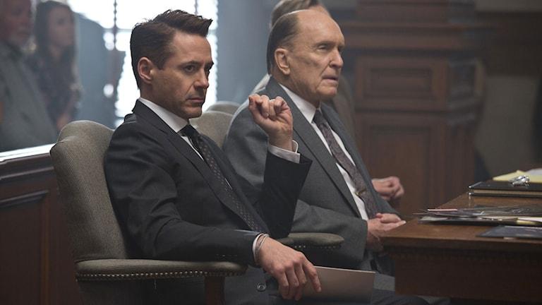 Robert Downey Jr och Robert Duvall i The Judge. Foto: Warner Brothers.