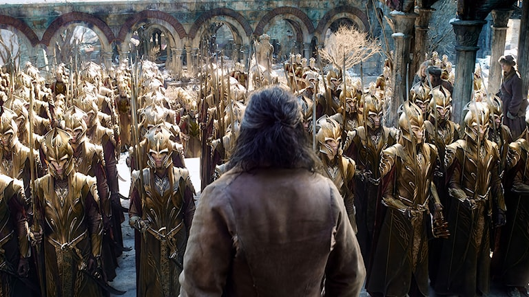 Ur filmen Hobbit: Femhäraslaget. Foto:  Warner Bros. Entertainment Inc. and Metro-Goldwyn-Mayer Pictures Inc.