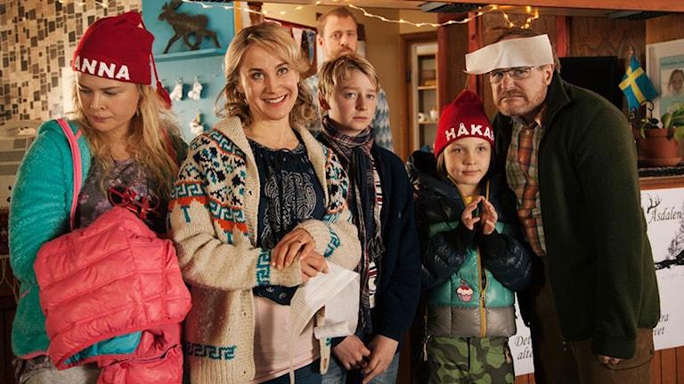 Sune i fjällen. Foto: Nordisk Film.
