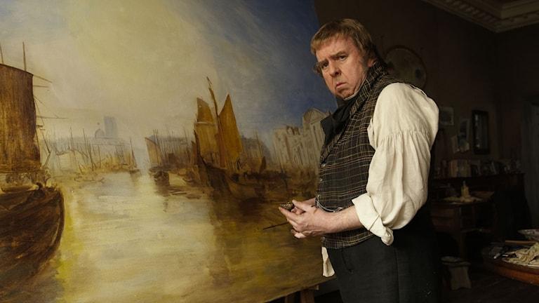 Timothy Spall som Mr Turner. Foto: Simon Mein.