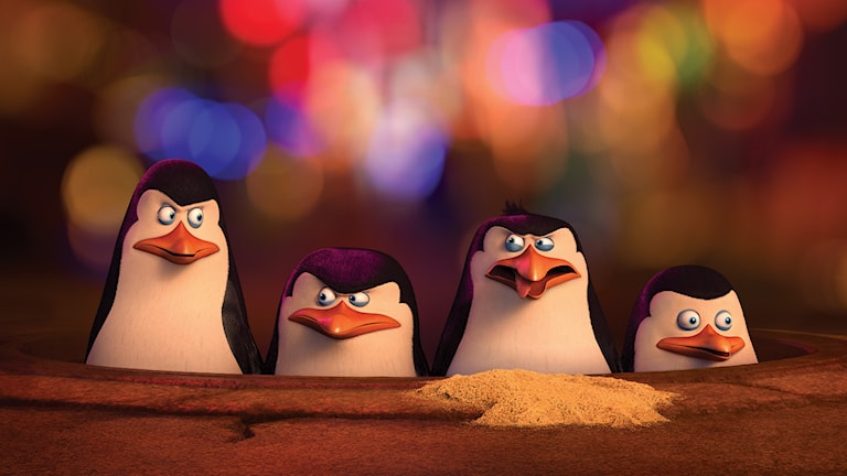 Pingvinerna från Madagaskar. Foto: Fox Movies.