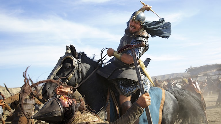 Christian Bale som Moses i Exodus. Foto: Fox Movies.