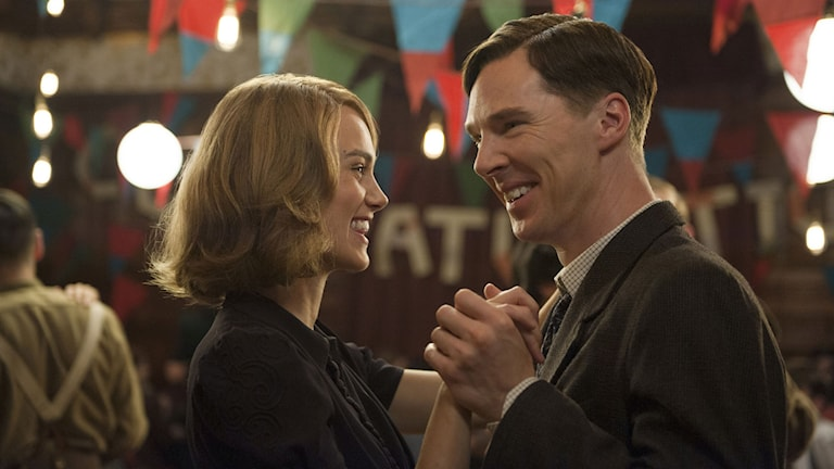 Keira Knightley och Benedict Cumberbatch i The Imitation Game. Foto:  Jack English.
