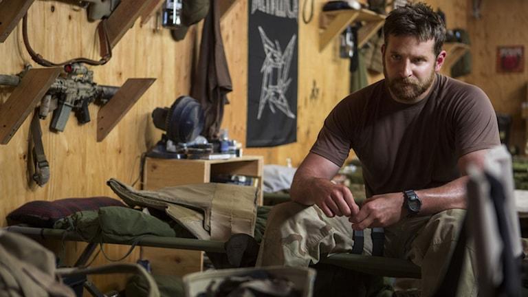 Bradley Cooper i American Sniper. Foto: Fox Movies.