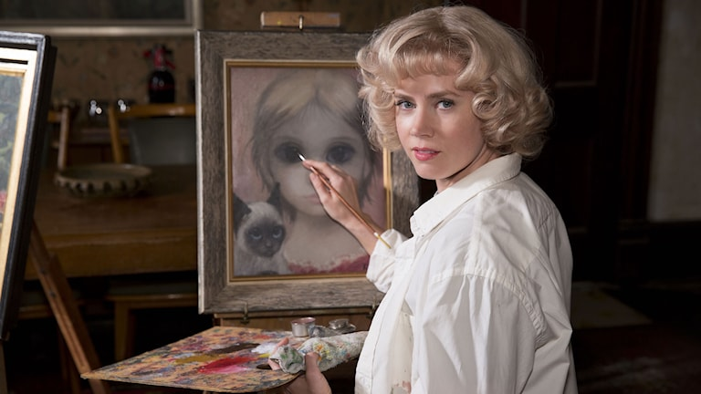 Amy Adams som konstnären Margaret Keane i Big Eyes. Foto: Scanbox Entertainment.