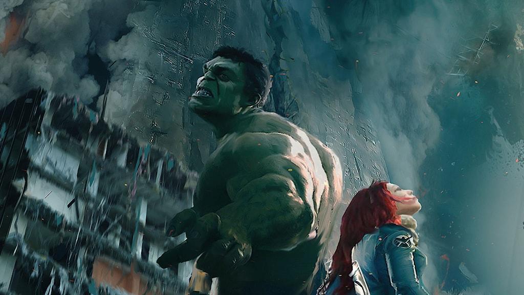 Från Avengers: Age of Ultron. Foto: Disney.