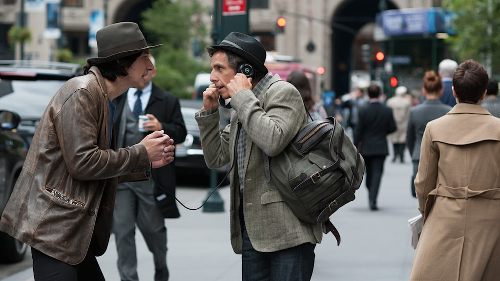 Adam Driver och Ben Stiller i While we´re young. Foto: Scanbox Entertainment.