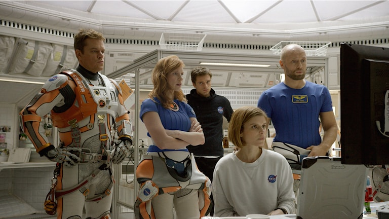 Innan olyckan i The Martian. Foto: Fox Movies.