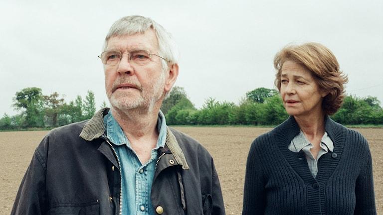 Tom Courtenay och Charlotte Rampling i 45 år. Foto: Studio S Entertainment.