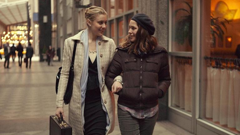 Greta Gervig och Lola Kirke i Mistress America. Foto: Fox Movies.
