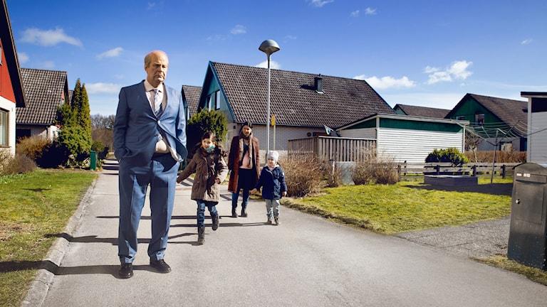 "Rolf Lassgård i ""En man som heter Ove"". Foto: Anders Nicander."