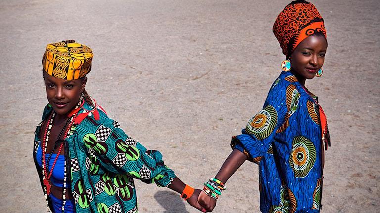 Martha och Niki i filmen med samma namn. Foto: Folkets Bio.
