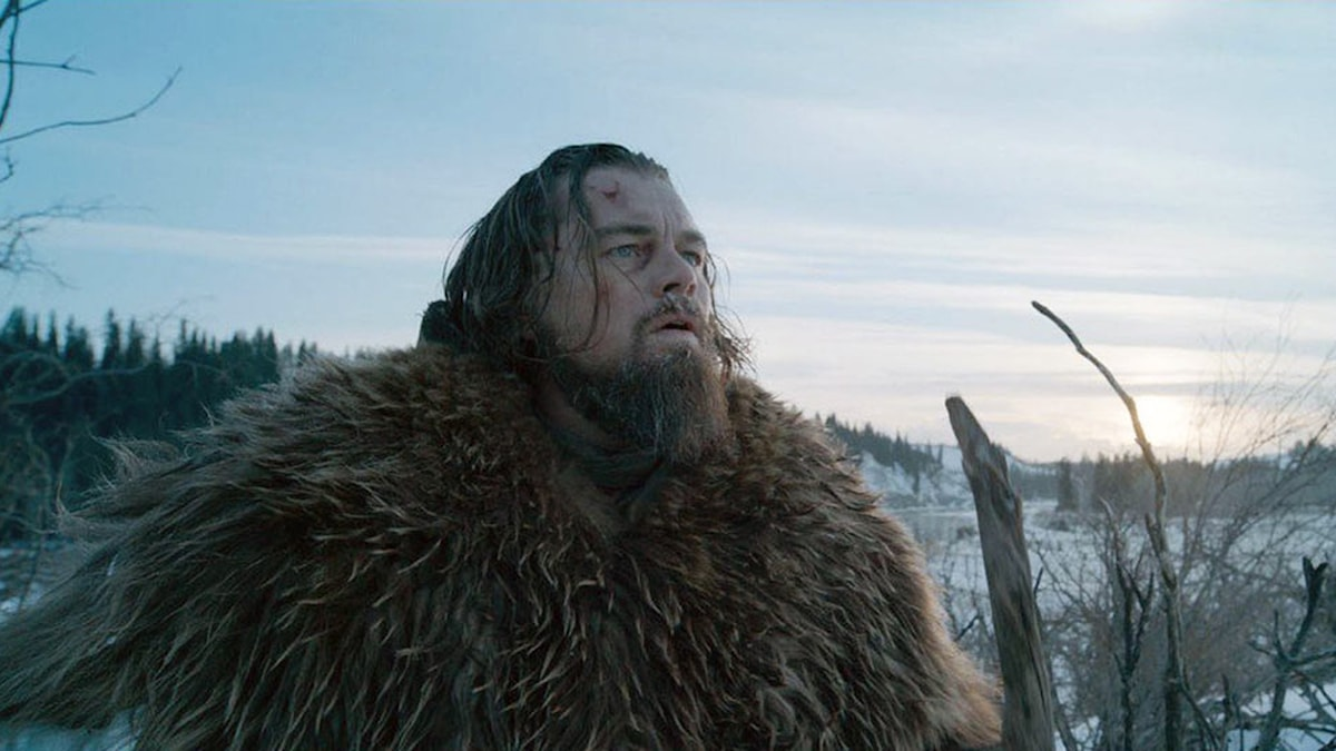 Leonardo DiCaprio som Hugh Glass i The Revenant. Foto: Fox Movies.
