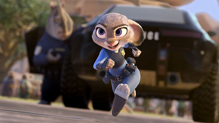 Ur filmen Zootropolis. Foto: Disney.