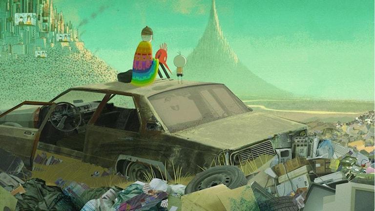 Ur filmen Pojken och världen. Foto: Njutafilms.