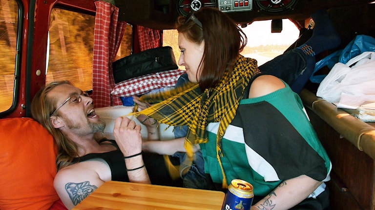 Fredrik och MonaLisa i MonaLisa story. Foto: TriArt.