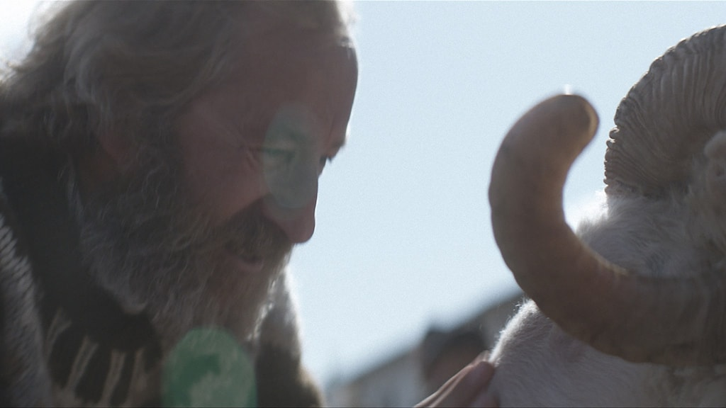 Sigurður Sigurjónsson i Bland män och får. Foto: Scanbox Entertainment.