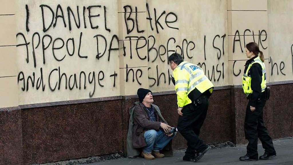 Dave Johns i Jag, Daniel Blake. Foto: Scanbox Entertainment.