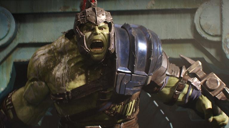 Mark Ruffalo spelar Hulken i Thor: Ragnarök. Foto: Disney.