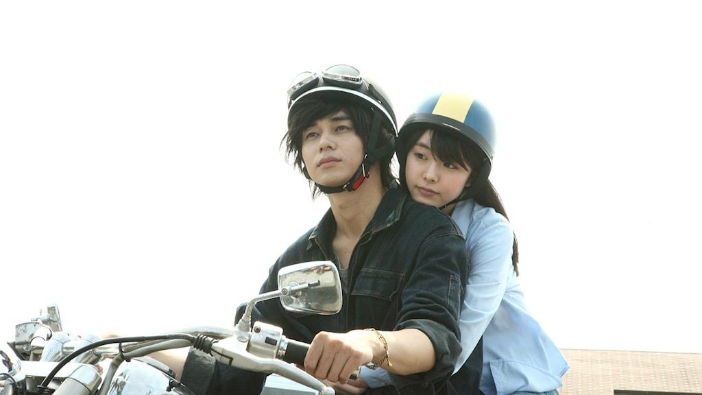 """Masahiro Higashide och Erika Karata som Ryôhei och Asako i """"Asako I & II""""."""