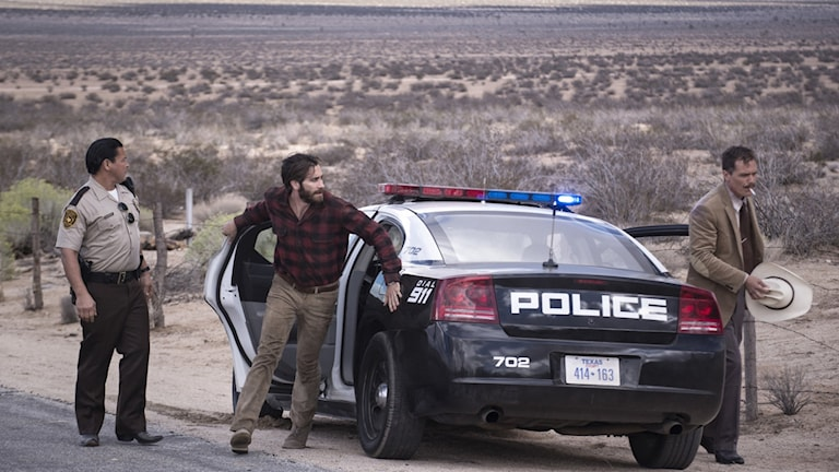 Jake Gyllenhaal i mitten i Nocturnal animals. Foto: UIP.