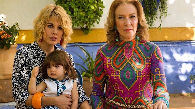 Adriana Ugarte och Susi Sánchez i Julieta. Foto: Njutafilms.