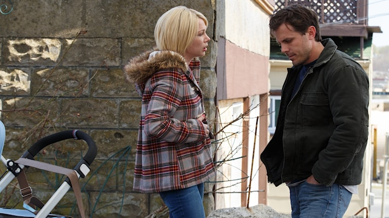 Michelle Williams och Casey Affleck i Manchester by the sea. Foto: UIP.