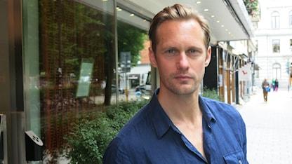 Alexander Skarsgård, aktuell i Legenden om Tarzan. Foto: Björn Jansson/ Sveriges Radio.