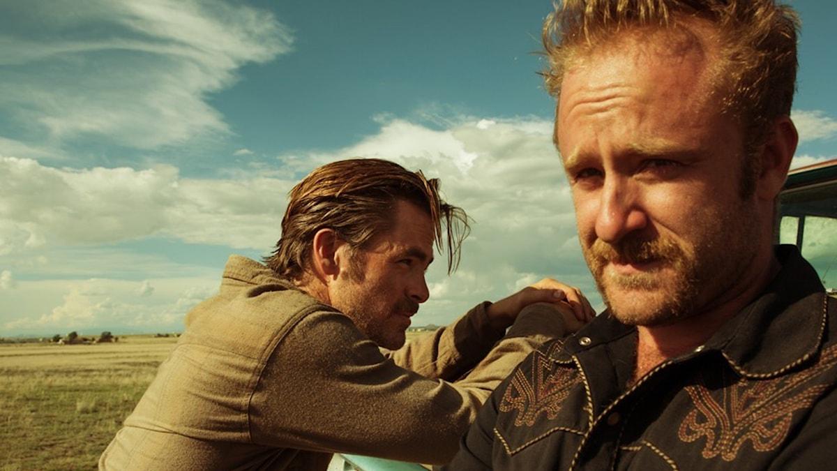 Chris Pine och Ben Foster i Hell or High Water. Foto: Scanbox Entertainment.