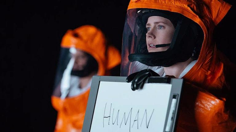 Amy Adams i Arrival. Foto: UIP.