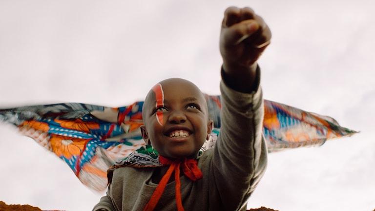 En kenyansk superhjälte i Supa Modo. Foto: Filmcentrum.